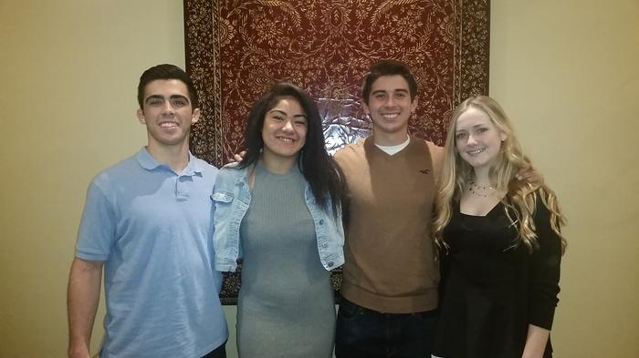 Century Club's Lakewood HS Honorees 2016