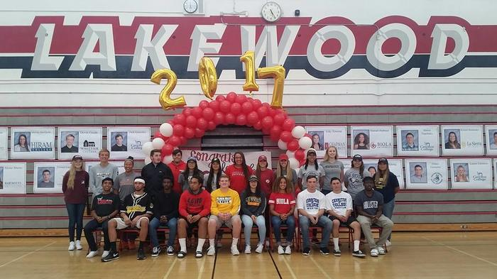 LHS 2017 SIGNING DAY CELEBRATION